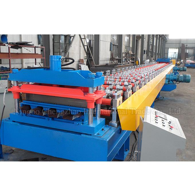 Roll Forming Machine For Colored Roof Panel PPGI GI