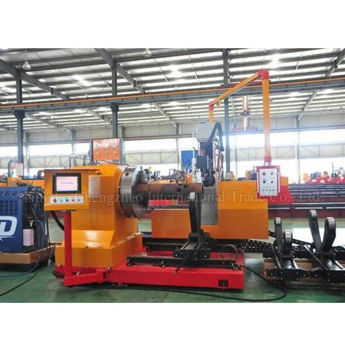 Hydraulic Flame Pipe Cutting Machine