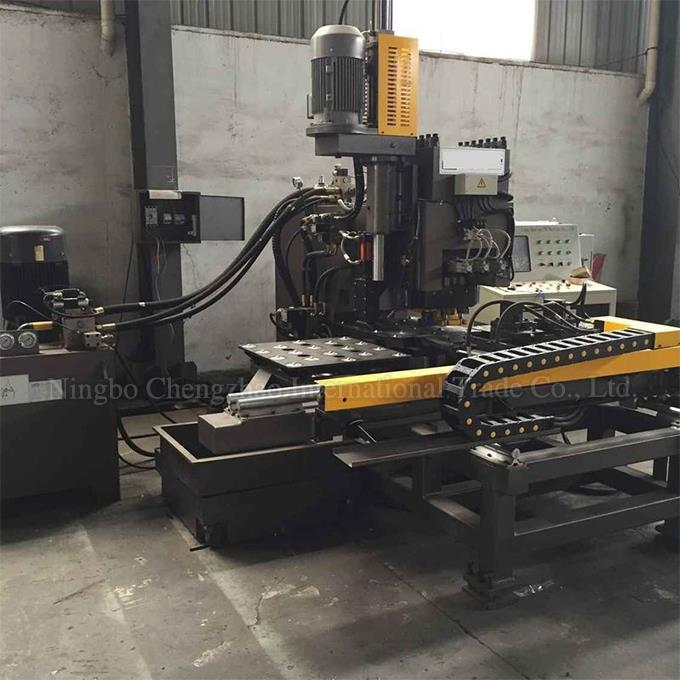 Full Automatic CNC Punch Machine For Steel Plate
