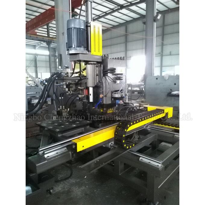 CNC Steel Plate Punching Machine With CNC Control System
