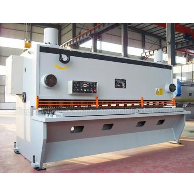 CNC Hydraulic Shearing Machine For Steel Plate